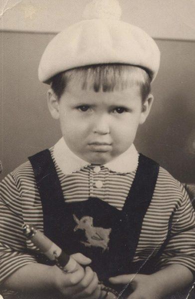 Никита Джигурда в детстве. Фото