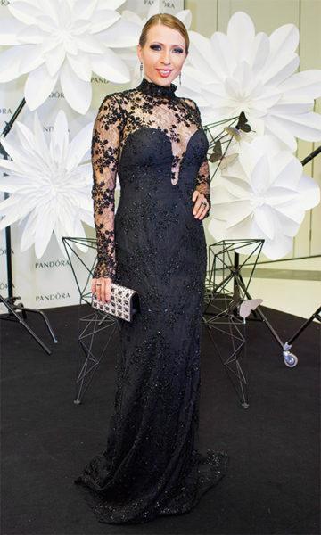 Яна Чурикова в красивом платье