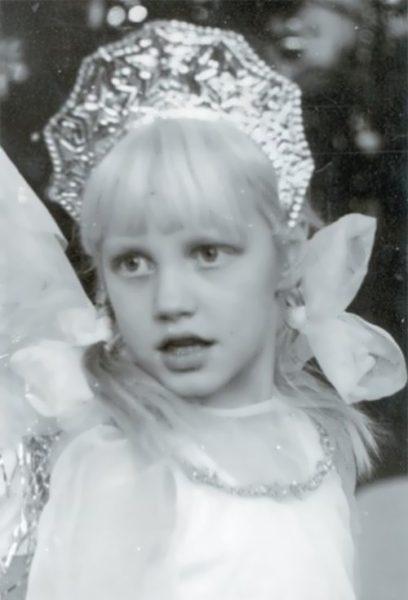 Маша Малиновская в детстве. Фото