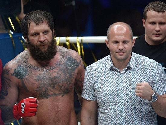 Александр Емельяненко и Федор Емельяненко