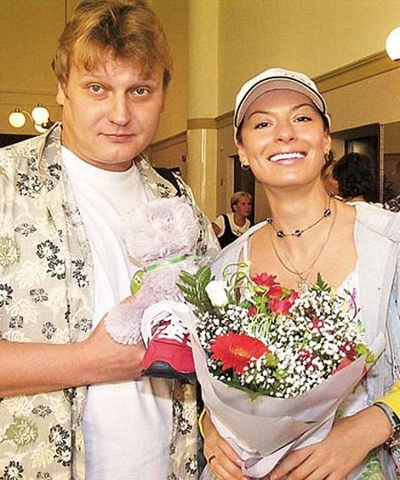 Актриса Ирина Лачина и Олег Будрин