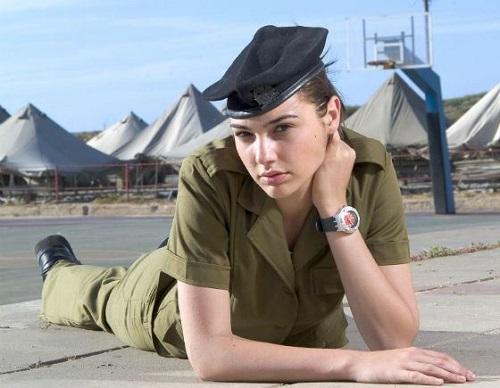 Галь Гадот в израильской армии
