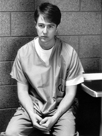 Эдвард Нортон в молодости. Фото