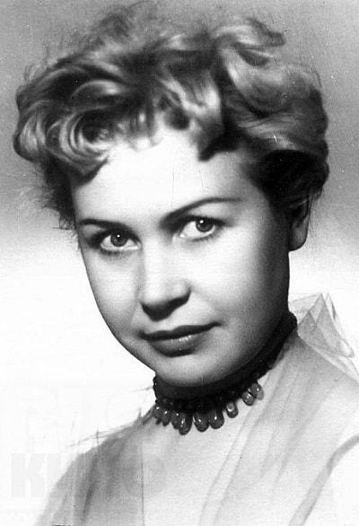 Инна Макарова в молодости. Фото