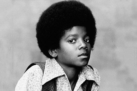Детское фото Майкла Джексона