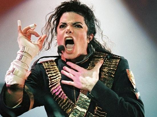 Фотография Майкла Джексона с концерта