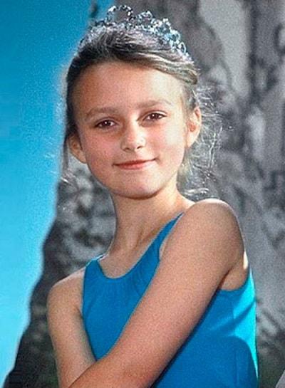 Кира Найтли в детстве. Фото