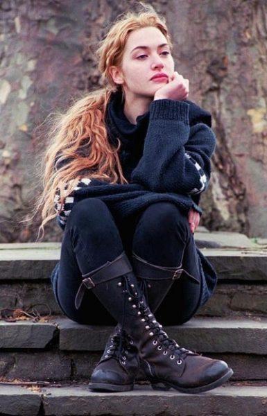 Молодая Кейт Уинслет. Фото