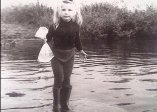Екатерина Волкова в детстве. Фото