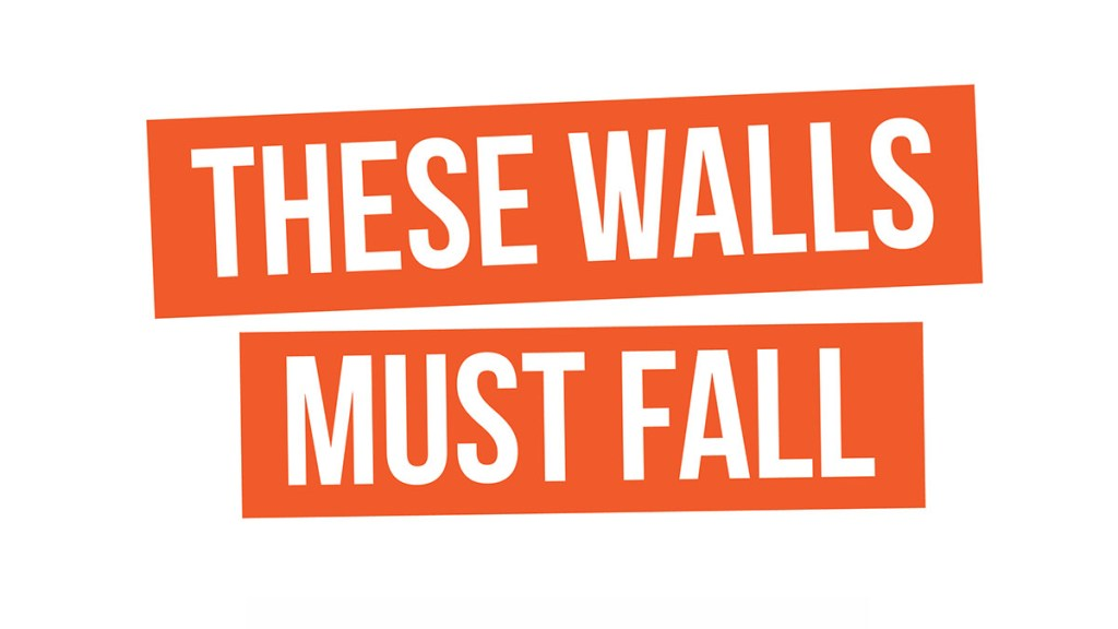 These walls must fall image