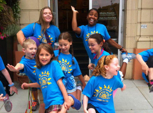 New this summer, the NECC is partnering with Spark Arts Center, the Hollywood district's go-to arts resource and learning center, to offer all-day themed camps for kids ages 6-11. (NECC)