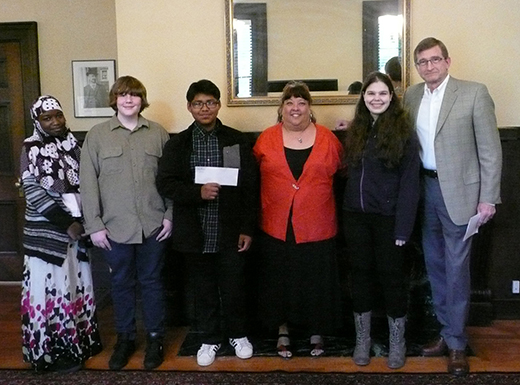 Windermere Stellar recently donated $2,000 to Harvey Scott School. (Windermere Stellar)