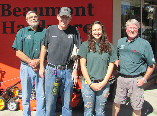 The friendly team at Beaumont Hardware has a reputation for top-notch customer service and an ability to help neighbors find what they need to successfully complete their home-improvement projects. (Ted Perkins)