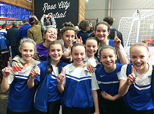 An NEU-PDX team of Northeast Portland neighborhood girls has qualified to play in the World Futsal Championships to be held at Walt Disney World's ESPN Wide World of Sports facility in Florida from August 1 to 4. (Andy Frazier)