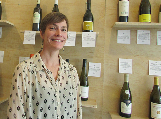 Telina Rohrer's Mom and Pop Wine Shop opened in the Roseway neighborhood last month. (Ted Perkins)
