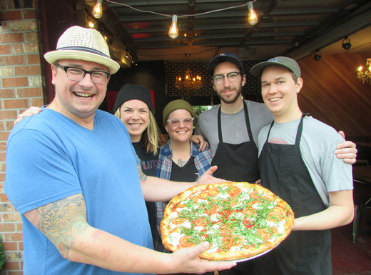 Last month, Jason Blair celebrated his one-year anniversary as owner of Hogan's Goat Pizza Shop in the Rose City Park neighborhood. (Ted Perkins)