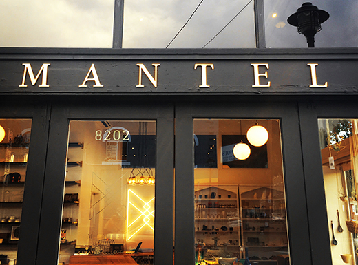 In September, longtime Kenton neighbor and Cleveland High art teacher Karen McClelland opened Mantel, a home and lifestyle boutique, in the Kenton neighborhood (Mantel)