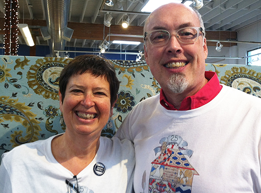 In October, Jaime Eoff and Amy Estrin celebrated 25 years of business for The Whole 9 Yards, an interior fabric and design shop at 1820 E. Burnside in the Buckman neighborhood.