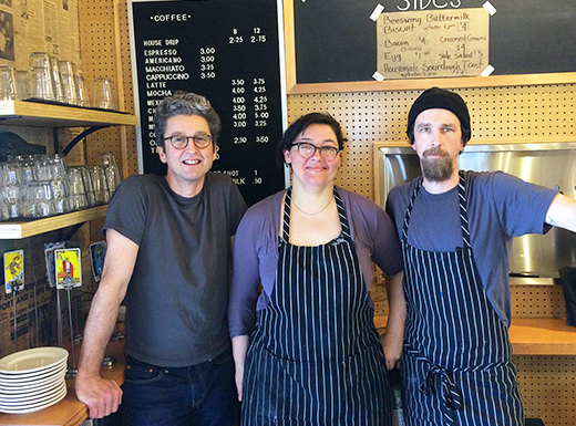 Beeswing cafe takes flight in former Cully pipe shop