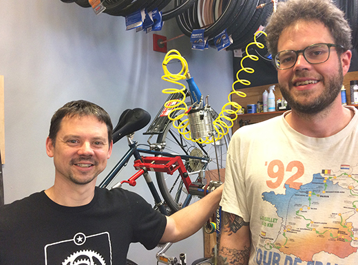Kenton Cycle Repair rolls into new home a few blocks away