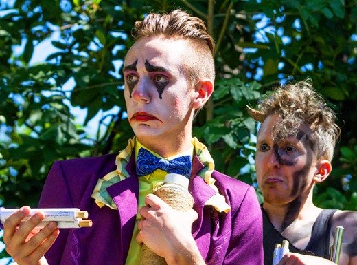 Troupe to improvise Shakespeare in neighborhood parks