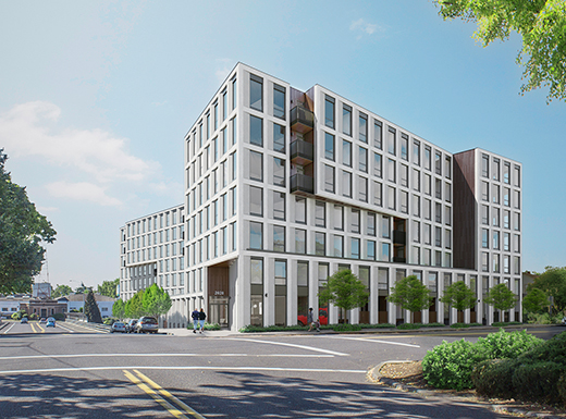 Seven-story, 162-unit condo project gets going in the gulch
