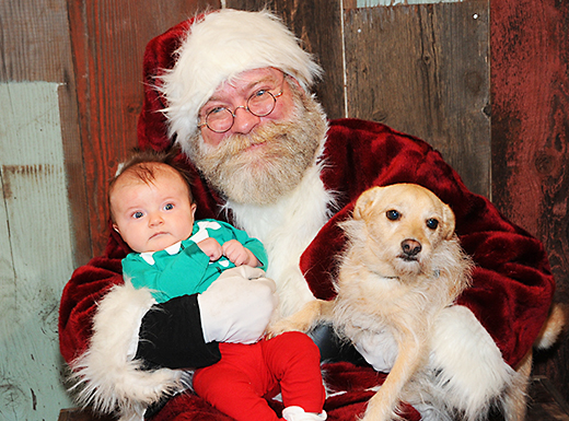 Santa 'Paws' raises funds for Pongo Fund in Beaumont Village