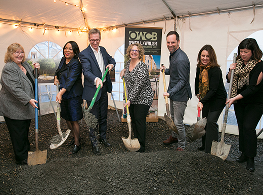 Home Forward breaks ground on affordable Lloyd housing tower