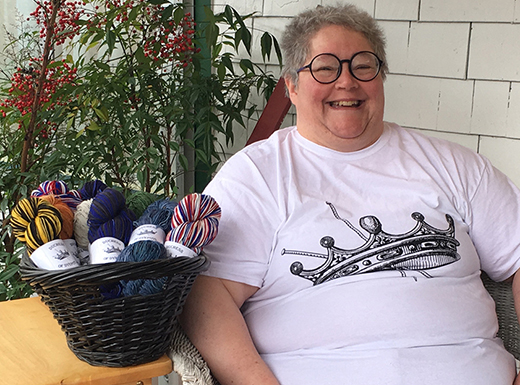 Duchess of Dyepots crafts business from Hollywood home