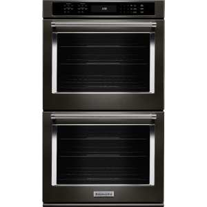 """27"""" Built-In Double Electric Convection Wall Oven"""