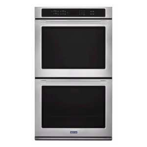 """27"""" Built-In Double Electric Convection Wall Oven Fingerprint Resistant Stainless Steel"""