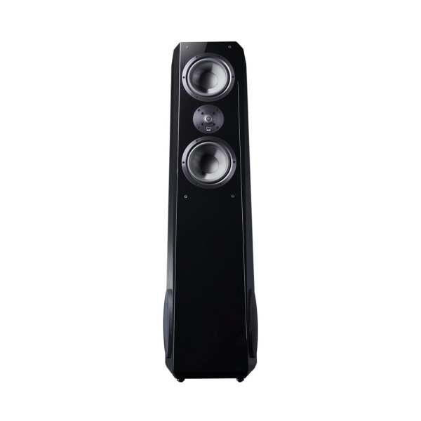"Ultra Dual 8"" Passive 3.5-Way Floor Speaker (Each) Gloss piano black"