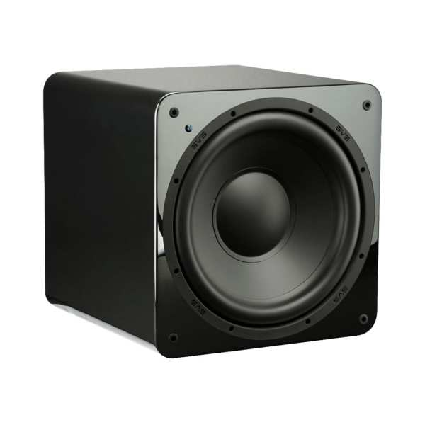 """12"""" 300W Powered Subwoofer Gloss piano black"""