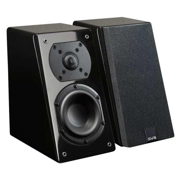 "Prime 4-1/2"" Passive 2-Way Speakers (Pair) Gloss piano black"