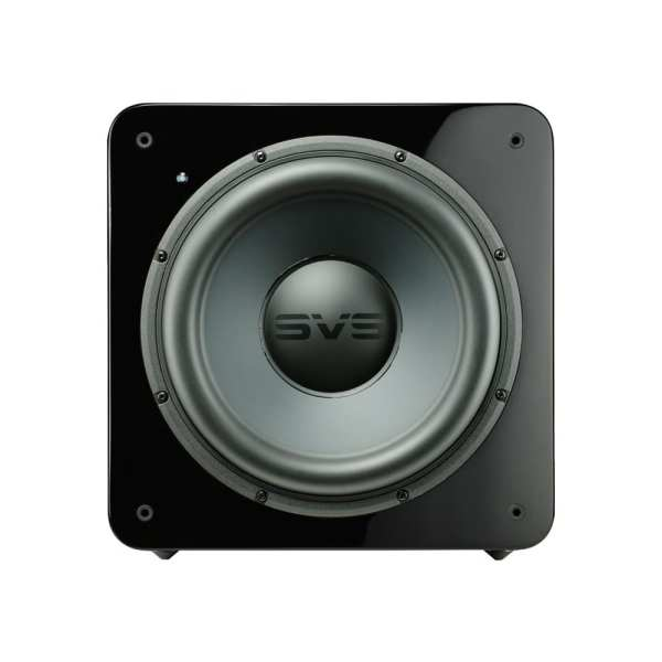 "12"" 500W Powered Subwoofer Gloss piano black"