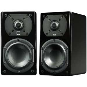 "Prime 4-1/2"" Passive 2-Way Speakers (Pair) Gloss piano black"