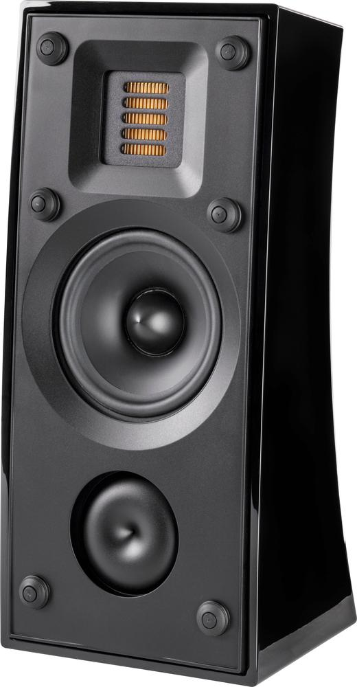 "Motion 4"" 75-Watt Passive 2-Way Bookshelf Speaker (Each) Gloss black"