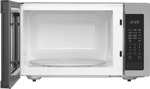 1.6 Cu. Ft. Full-Size Microwave Stainless steel