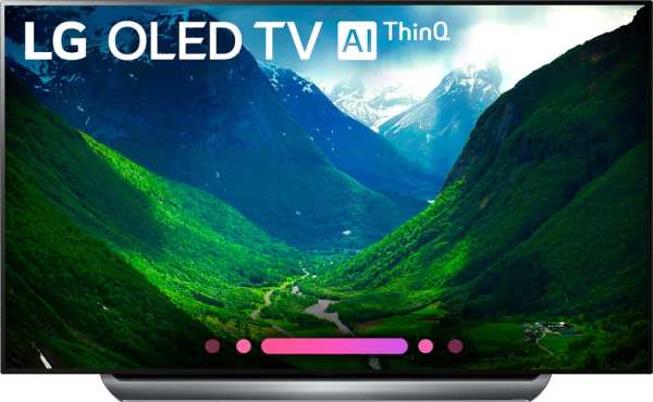 """77"""" Class OLED C8PUA Series 2160p Smart 4K UHD TV with HDR"""