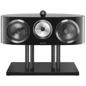 "800 Series Diamond Dual 8"" Passive 3-Way Center-Channel Speaker Gloss black"