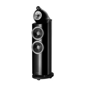 "800 Series Diamond Dual 7"" Passive 3-Way Floor Speaker (Each) Gloss black"