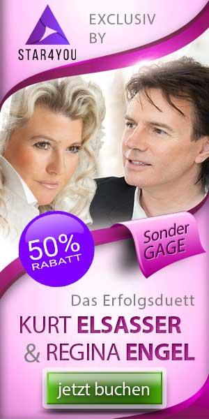 Kurt Elsasser & Regina Engel jetzt bis zu 50% günstiger buchen!