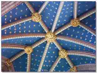 Exeter Cathedral ceiling