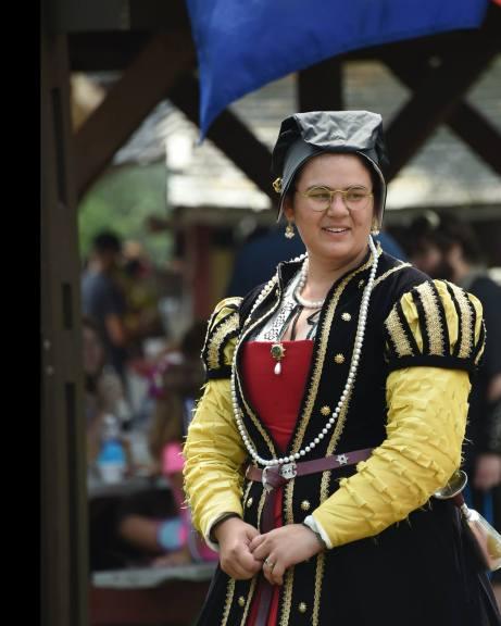Lady Frances Brooke, Baroness Cobham, Mistress of the Robes
