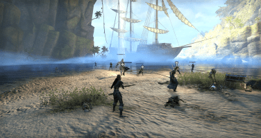 fighting in Blackheart Haven