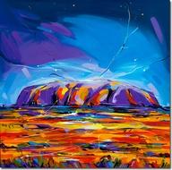 Uluru heart of australia chakra