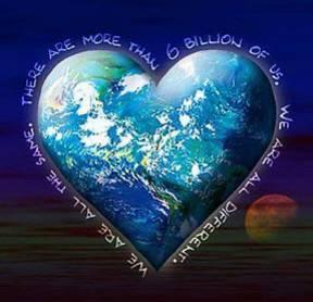 One heart one earth