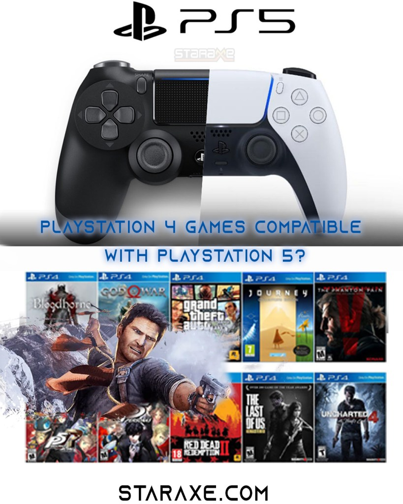 Blog highlight image if ps4 games compatible with ps5
