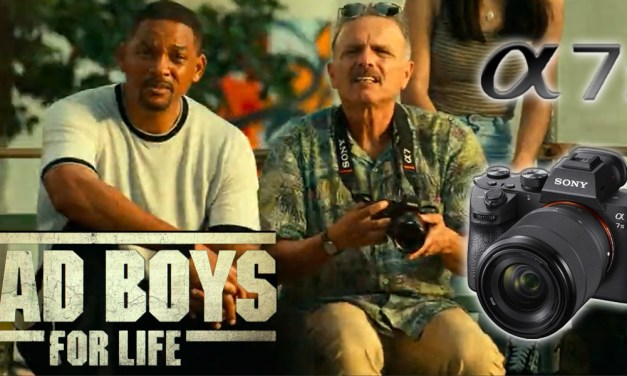 Sony Alpha A7 Camera Used by Captain Conrad Howard in Bad Boys for Life (2020)