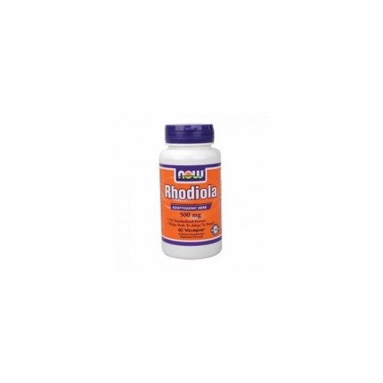NOW FOODS RHODIOLA 500MG/60KAPS.